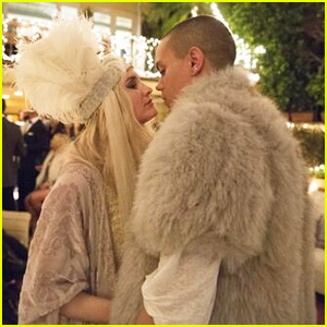 Ashlee Simpson & Evan Ross Celebrate Engagement with Amazing Party!