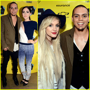 Ashlee Simpson Supports Evan Ross at His SXSW Premiere!