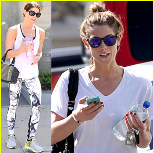 Ashley Greene Keeps Up Her Daily Fitness Routine!