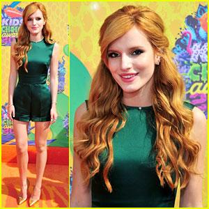 Bella Thorne - Kids' Choice Awards 2014 Orange Carpet