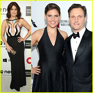 Bellamy Young & Tony Goldwyn Are Scandalous at Elton John Oscars Party 2014!