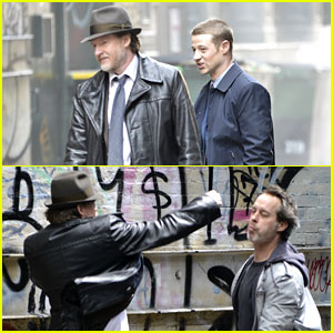 These Pics of Ben McKenzie in a 'Gotham' Fight Scene with Donal Logue Are Getting Us So Excited!