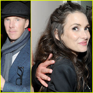 Benedict Cumberbatch & Winona Ryder Mingle with Samuel L. Jackson at Pre-Oscars Party