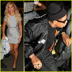 Beyonce & Jay Z Celebrate Her Final Show in London!