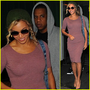 Beyonce & Jay Z Have a Date Night Before She Performs in Ireland!