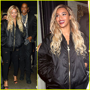 Beyonce & Jay Z Party at Mason House After London Concert