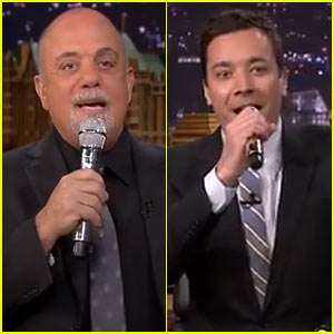 Billy Joel & Jimmy Fallon Form Doo-Wop Group, Sing 'Lion Sleeps Tonight' with Help of iPad App!