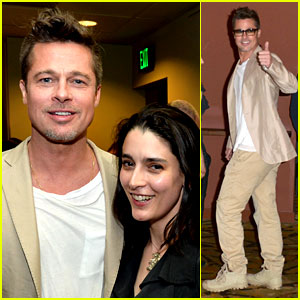 Brad Pitt Supports His New Documentary at L.A. Screening!
