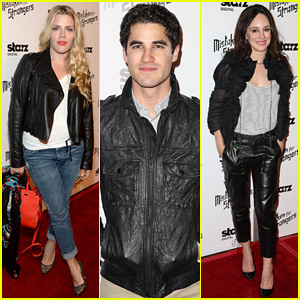 Busy Philipps & Darren Criss Step Out For 'Mistaken For Strangers' Screening!