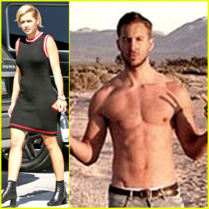 Calvin Harris Teases New Video with Super Hot Shirtless Pic!