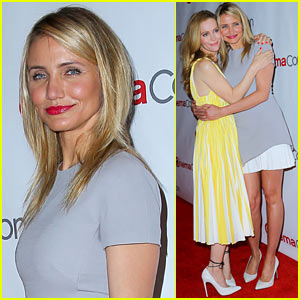 Cameron Diaz & Leslie Mann Let No 'Other Woman' Between Them at CinemaCon 2014!