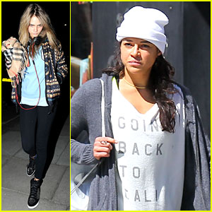 Cara Delevingne Hangs Out in London, Michelle Rodriguez Goes Back to Cali