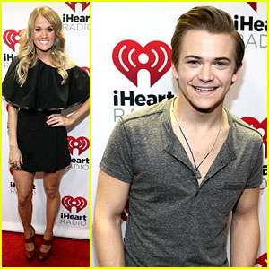 Carrie Underwood & Hunter Hayes Make the Crowd go Wild at the iHeartRadio Country Festival!