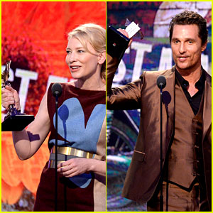 Cate Blanchett & Matthew McConaughey: Spirit Awards Winners!