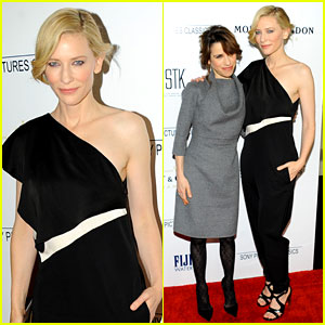 Cate Blanchett Preps for Oscars at Dinner with Sally Hawkins!