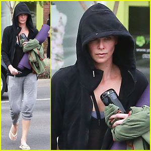 Charlize Theron Always Looks Pretty...Even After a Workout on a Sunday Morning!