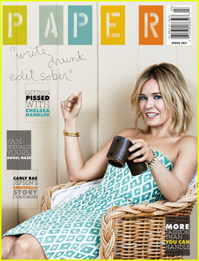 Chelsea Handler Covers 'Paper' Magazine's Spring 2014 Issue!