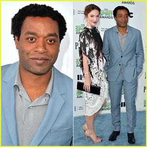 Chiwetel Ejiofor: Spirit Awards 2014 with Girlfriend Sari Mercer!