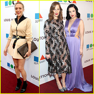 Chloe Sevigny & Dita Von Teese Glam Up for MOCA Gala