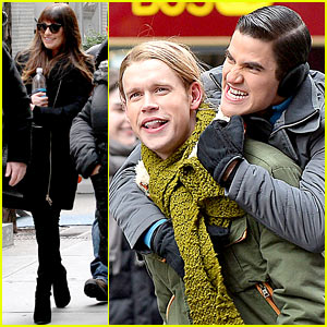 Chord Overstreet Arrested While Filming 'Glee' Piggyback Scene with Darren Criss?