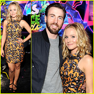 Chris Evans & Kristen Bell Present at Kids' Choice Awards 2014!