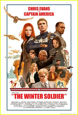 Chris Evans & Scarlett Johansson Go Retro in Awesome New 'Captain America' Posters!