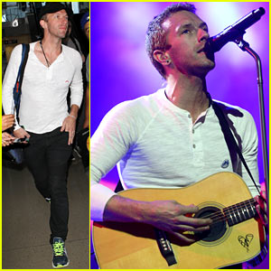 Chris Martin & Coldplay Perform at SXSW 2014, Debut New 'Ghost Stories' Songs Live!
