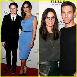 Courteney Cox & Boyfriend Johnny McDaid Hit the Red Carpet for Tribeca Film Festival Event