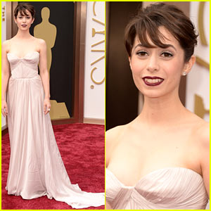 How I Met Your Mother's Cristin Milioti - Oscars 2014 Red Carpet