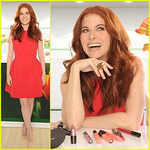 Debra Messing Shares Secret to Looking Beautiful During Allergy Season - Zyrtec!