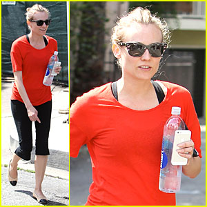 Diane Kruger Gets Back into Shape After Vanity Fair Oscars Party!