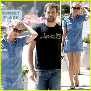 Diane Kruger & Joshua Jackson Just Love Their Denim!