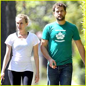 Joshua Jackson is Festive in Green for St. Patrick's Day Outing with Diane Kruger!