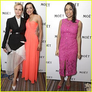 Diane Kruger & Rosario Dawson Impact Us with Presenting Skills at NHMC Awards!