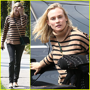 Diane Kruger's Secret to Looking Perfect - a Tailor!