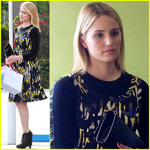 Dianna Agron: 'Glee' 100th Episode Airing in Two Weeks!