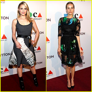 Dianna Agron & Isabel Lucas Celebrate at the MOCA Anniversary Gala!
