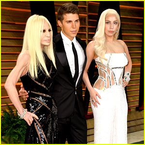 Donatella Versace Had the Hottest Arm Candy at Oscars Parties!