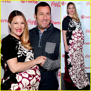 Drew Barrymore & Adam Sandler Win CinemaCon's Stars of the Year Awards!