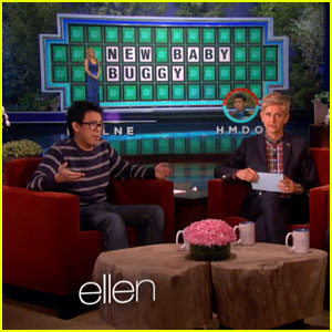 Ellen DeGeneres Interviews Lucky 'Wheel of Fortune' Contestant!