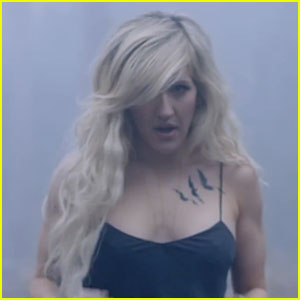 Ellie Goulding Is Tatted Up for Her 'Beating Heart' Music Video - Watch Now!