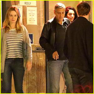 Emily Blunt & John Krasinski Double Date with George Clooney & Amal Alamuddin!