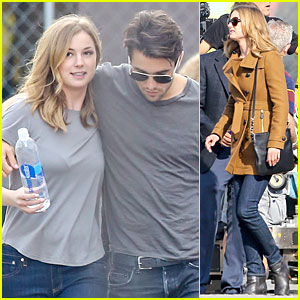 Emily VanCamp & Josh Bowman Are Wrapped Up in Each Other's Love!