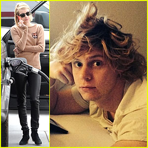 Emma Roberts Snaps Intimate Pic of Fiance Evan Peters in Bed!