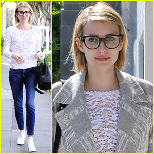 Emma Roberts Wants to See More 'True Detective'!