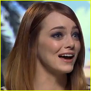 Emma Stone Brought to Tears Talking About Spice Girls, Sings 'Wannabe' in Super Cute Interview