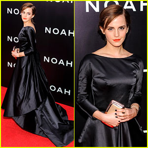 Emma Watson Is the Epitome of Elegance at 'Noah' NY Premiere