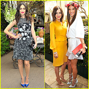Emmy Rossum & Camilla Belle Just Love Their Christian Louboutin Bags!