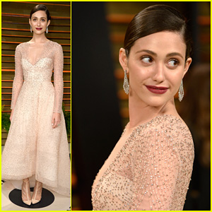 Emmy Rossum - Vanity Fair Oscars Party 2014