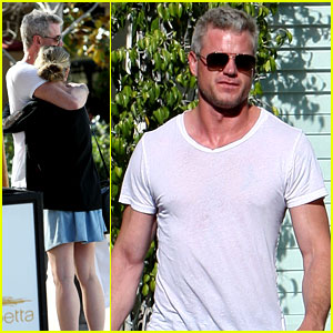 Eric Dane & Rebecca Gayheart Make One Cute (& Hot) Couple!